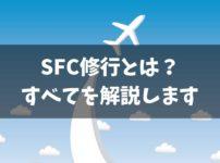 SFC修行とは?【まず理解しておきたいポイント】